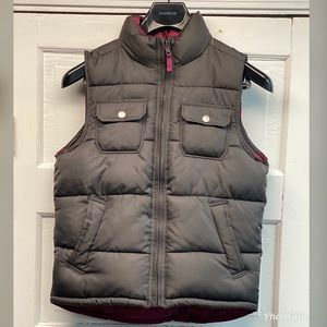 Gap Kids Puffy Vest (Reverse-able)